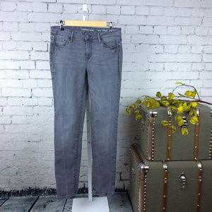 Calvin Klein gray Ultimate Skinny jeans w/stretch